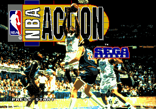 NBA Action '94 title screenshot