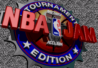 NBA Jam Tournament Edition title screenshot