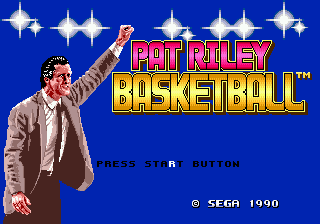 Pat Riley Basketball title screenshot