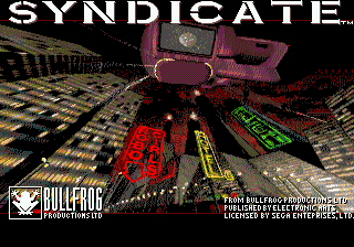 Syndicate title screenshot