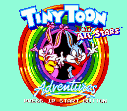 Tiny Toon Adventures - Acme All-Stars title screenshot
