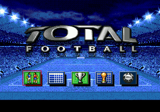 Total Football title screenshot