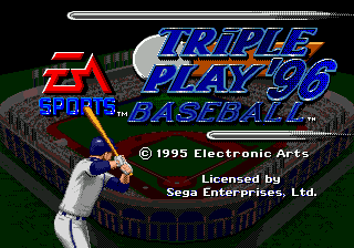 Triple Play 96 title screenshot