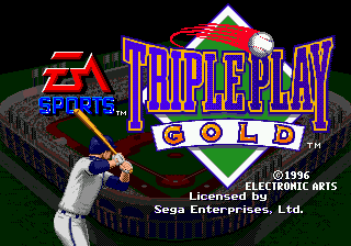 Triple Play - Gold Edition title screenshot