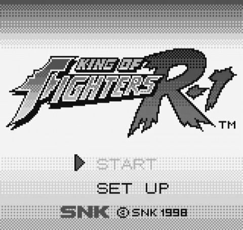 King of Fighters R-1 - Pocket Fighting Series title screenshot