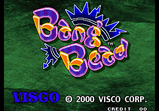 Bang Bead title screenshot