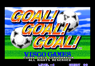 Goal! Goal! Goal! title screenshot