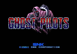 Ghost Pilots title screenshot