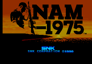NAM-1975 title screenshot