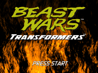 Beast Wars - Transformers title screenshot