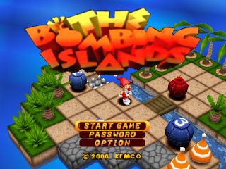 Bombing Islands, The title screenshot