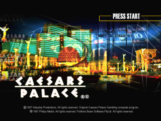 Caesars Palace title screenshot