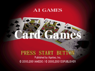 Card Games title screenshot