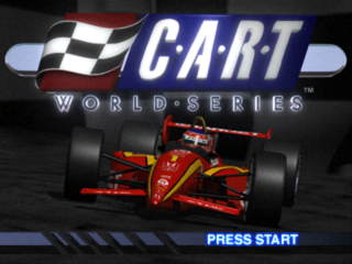 CART World Series title screenshot