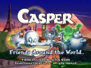 Casper - Friends Around the World title screenshot