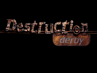 Destruction Derby title screenshot