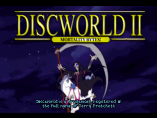 Discworld II - Mortality Bytes ! title screenshot