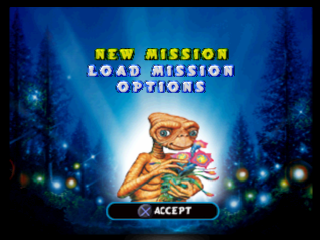 E.T. the Extra-Terrestrial - Interplanetary Mission title screenshot
