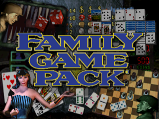 Family Game Pack title screenshot