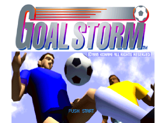 Goal Storm title screenshot