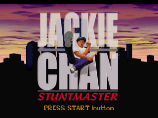 Jackie Chan Stuntmaster title screenshot