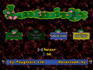 Lemmings & Oh No! More Lemmings  title screenshot