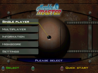 Marble Master title screenshot