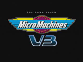 Micro Machines V3 title screenshot