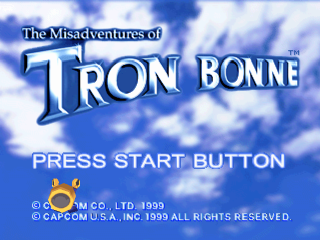 Misadventures of Tron Bonne, The title screenshot