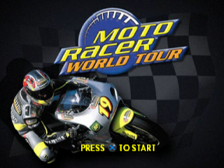 Moto Racer World Tour title screenshot