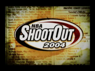 NBA ShootOut 2004 title screenshot