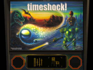 Pro Pinball - Timeshock ! title screenshot