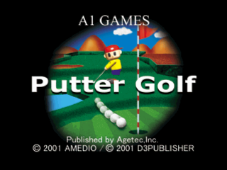 Putter Golf title screenshot
