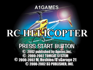 RC Helicopter title screenshot