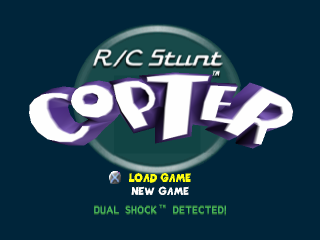 RC Stunt Copter title screenshot