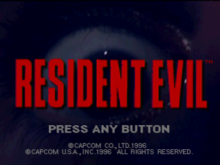 Resident Evil title screenshot