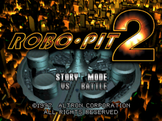 Robo Pit 2 title screenshot
