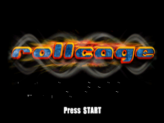 Rollcage title screenshot