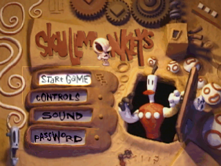 Skullmonkeys title screenshot