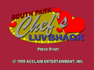 South Park - Chef's Luv Shack title screenshot