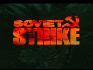 Soviet Strike title screenshot