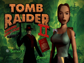 Tomb Raider II - Starring Lara Croft title screenshot