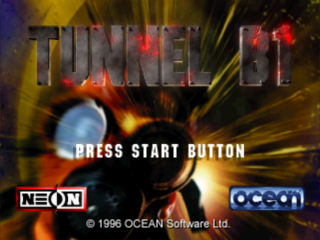 Tunnel B1 title screenshot