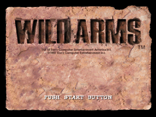Wild Arms title screenshot