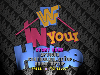 WWF In Your House title screenshot