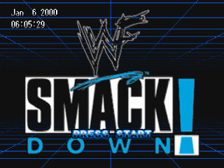 WWF SmackDown ! title screenshot