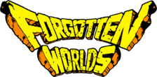 Forgotten Worlds logo