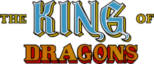 King of Dragons, The logo
