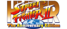 Hyper Street Fighter 2 : The Anniversary Edition logo