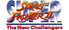 Super Street Fighter II : The New Challengers logo